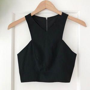f6949621059544 Tops | Sale Mint Green Sequin Crop Top | Poshmark
